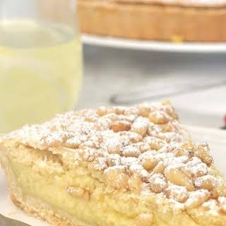 Italian Torta della Nonna, Grandma's Cake.