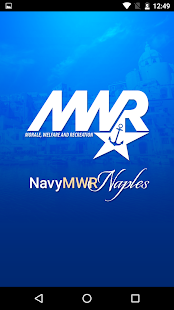NavyMWR Naples- screenshot thumbnail