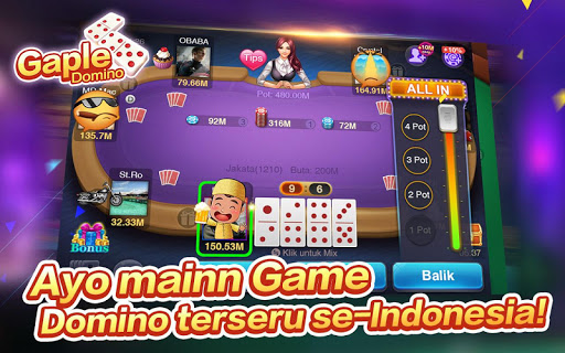 Domino Gaple Free:Pulsa:Online 2.0.0.0 screenshots 6