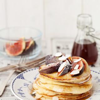 Ricotta & Almond Pancakes