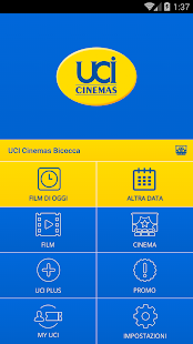 UCI CINEMAS ITALIA- screenshot thumbnail