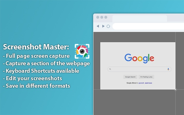 Screenshot Master: Full Page Capture