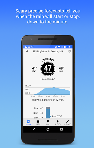 Dark Sky – Hyperlocal Weather v1.6.1 [Premium]