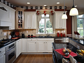 Photo: The kitchen in our CATALINA townhome model at The Havilands in Queensbury, New York