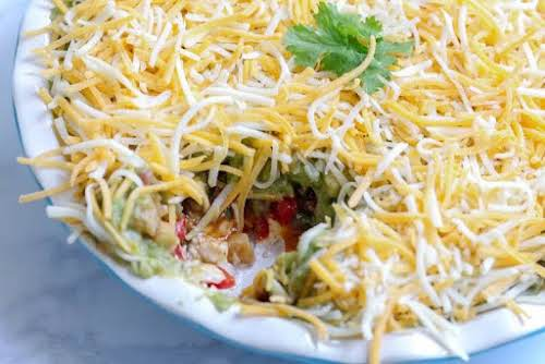 "Fajita Dip ""Just made this for weekend snack day... I could eat..."