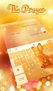 Prayer Keyboard Theme - náhled
