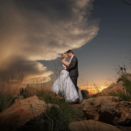Noon by Lood Goosen (LWG Photo) - Wedding Bride & Groom ( bride, love, wedding dress, couple, groom, wedding photography, wedding photographer, bride groom, weddings, wedding day, wedding photographers, brides, bride and groom, groom and bride, wedding )