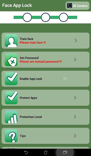 Face Lock Screen