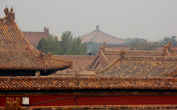 Photo: Day 190 -  Rooftops in The Forbidden Palace
