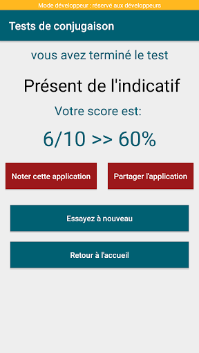 Game french conjugation: learn french conjugation 3.0.4 APK MOD screenshots 2