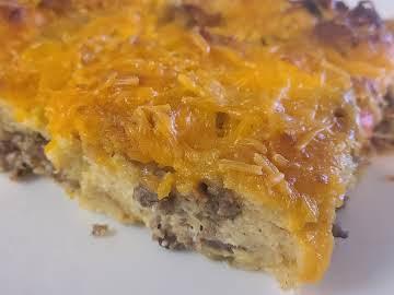 Grandma's breakfast bake