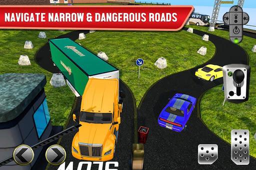 Ferry Port Trucker Parking Simulator apktram screenshots 3