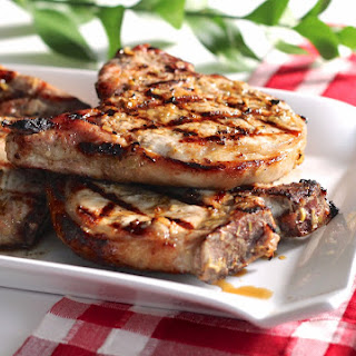 Grilled Lemongrass Pork Chops.