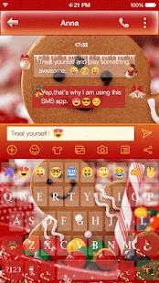 Christmas Emoji Keyboard Skin - náhled