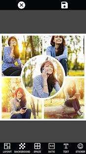 Collage Photo Mirror & Face Live Camera