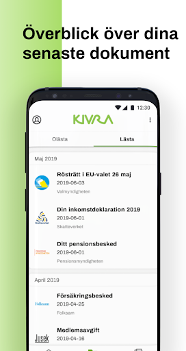 Kivra screenshot 4