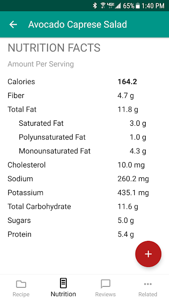 Healthy Recipes & Calculator screenshot 6