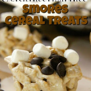 Gluten Free Dairy Free Smores Cereal Treats