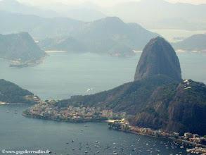 Photo: Le Pain de sucre à Rio de Janeiro.