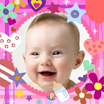 Baby photo frames Icon
