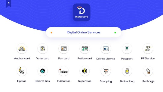 Online Seva Digital Services India App Download For Android and iPhone 1
