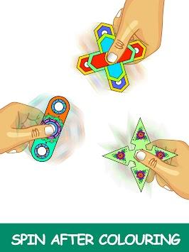 Fidget Spinner Mandala Coloring Book APK Screenshot Thumbnail 5