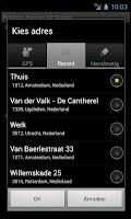 Screenshot of RitMeter Kilometerregistratie