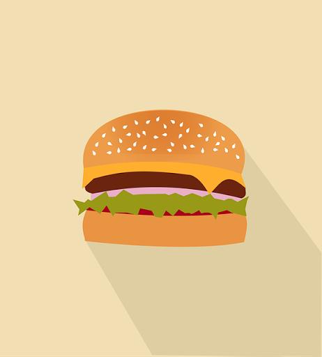 ハンバーガーメニュー