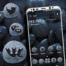 Black Stone Launcher Theme Download on Windows