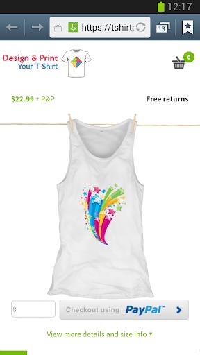 Design & Get Your T-Shirt Apk apps 8