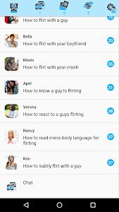 Flirt for females screenshot 1