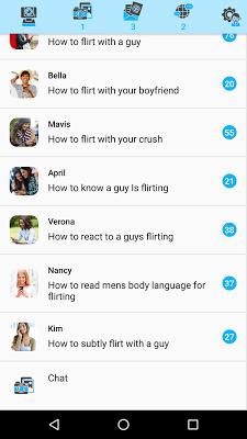 Flirt for females - screenshot