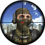 Sniper City Assassin Soldier Icon