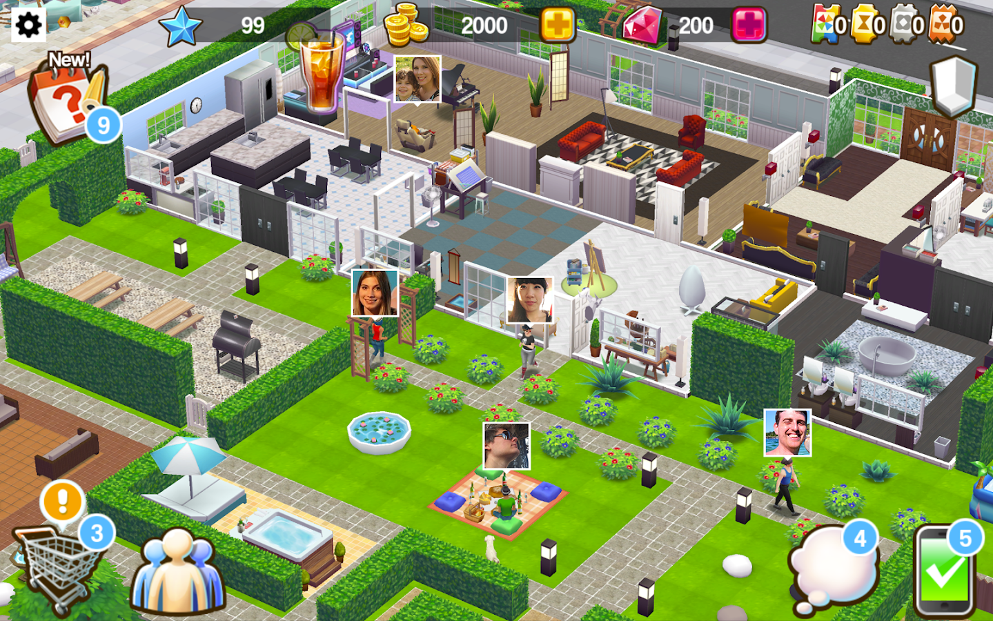 Home street design your dream home android apps on for Design your home games