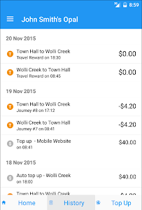 Opal View - Opal Card App screenshot 5