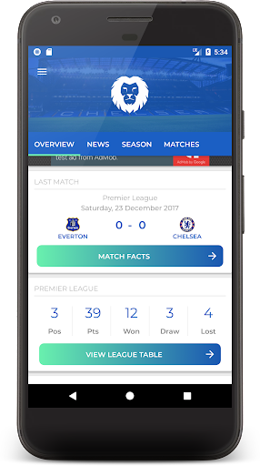 CFCN -  The Ultimate Chelsea Fan App 1.3 screenshots 2