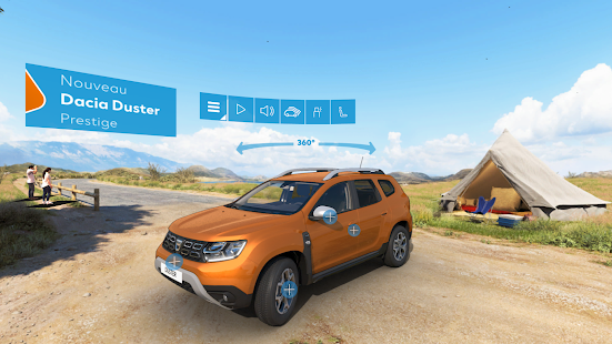 dacia nouveau duster vr android apps on google play. Black Bedroom Furniture Sets. Home Design Ideas