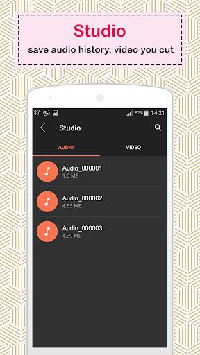 video audio cutter 4.8 screenshots 6