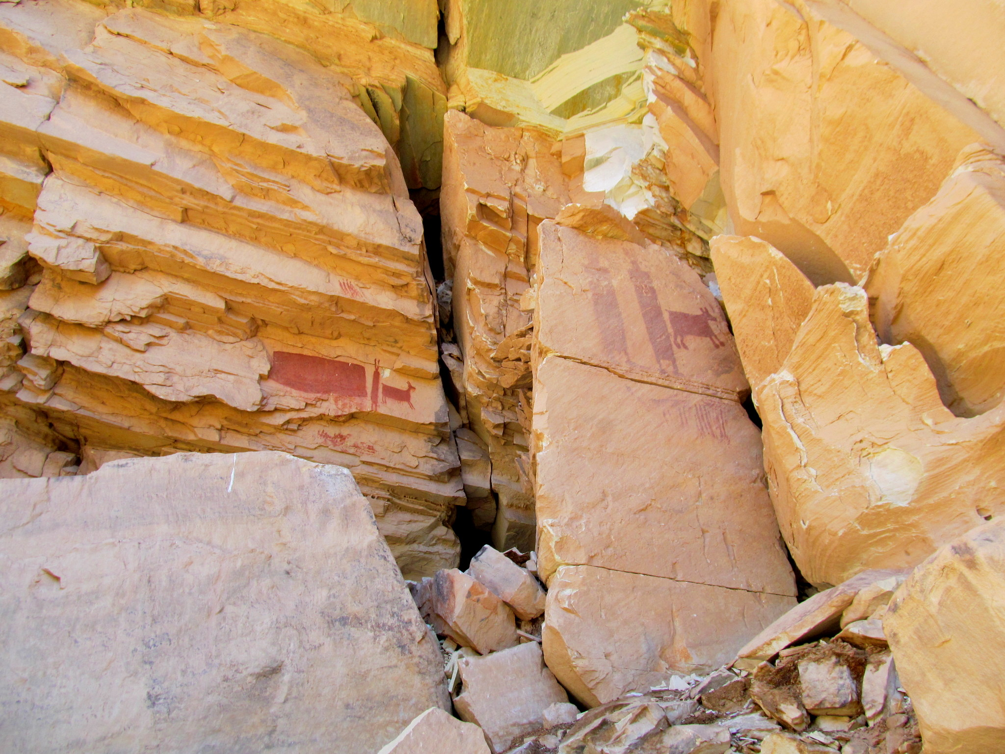 Photo: Pictographs in the San Rafael Reef