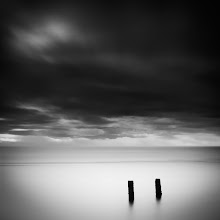 """Photo: """"Two"""" - http://www.createwithlightphotography.com  I recently got back from an incredible trip to San Fran for the +A Slice of Time - SF Bay Photowalk 2013. This was the brainchild of my dear friend +Nathan Wirth and was so much fun and a huge success. I have a looooot of processing to do, but it might be a while until I'm able to get to it, due to new baby duties :-)  In the mean time, this is an 80 second exposure of old pilings in the Strait of Georgia in Vancouver.  I used a 10 and a 3 stop ND filter, and stacked a 3 stop hard grad ND filter, to get the right level of contrast in the the clouds, water and around the piling.  This is the fourth image in my new series of numbered pilings.  The clouds and light were perfect that day and created a layer of light around the pilings at high tide.  The techie stuff:  ISO: 100 Aperture: f/11 Exposure: 80 seconds Focal Length: 60mm Filters: Hitech Pro 10 stop ND filter, Lee 3 stop and 2 stop hard grad ND filter  This is my contribution to the #LongExposureThursday theme, kindly curated by +Francesco Gola and +Le Quoc , the #ThirstyThursday theme, kindly curated by +Giuseppe Basile and +Mark Esguerra , the #FineArtPls theme, curated by the lovely +Marina Chen and +Fineao Fang , the #landscapephotography theme run by +Bill Wood , the #BWFineArtLE theme, curated by the amazing Mr +Joel Tjintjelaar and +Black and White Fine Art Photography Gallery , #SquaresAreSassy curated by my dear friend +Nathan Wirth , the #DeneMilesIsFabulous theme curated by my wonderful friend, muse and supporter +dene' miles , the #stormyfriday theme curated by +Reinhard Latzke , the #pacificnwfriday theme curated by +Bob Harbison , an early entry for the #minimalmonday theme curated by my good friend +Olivier Du Tré and finally the #PlusPhotoExtract theme, run by the awesome +Jarek Klimek  All thoughts and comments welcome.  Please visit my website to view more of my images: http://www.createwithlightphotography.com  #PlusPhotoExtract #Grant"""