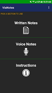 ViaNotes Pro - Notes and Audio Recorder Screenshot