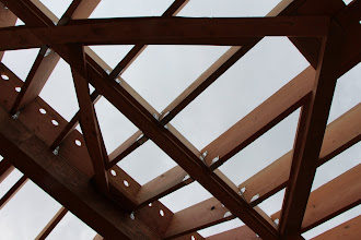 Photo: Yep, node ceiling: a square bending at not one, but two angles.