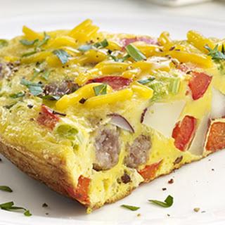 Breakfast Sausage Frittata