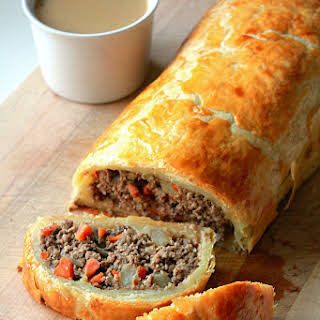 Minced Beef Roll.