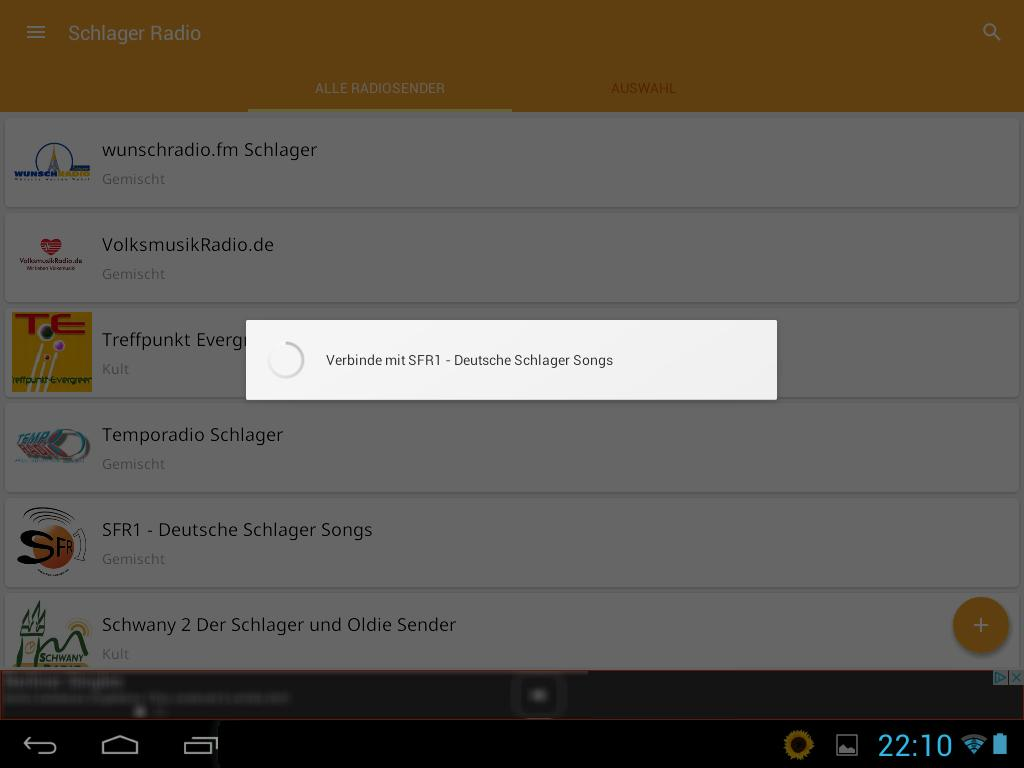 Schlager Radio- screenshot