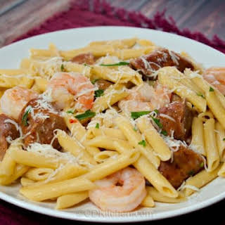 Penne Pasta With Shrimp And Sausage Recipes.