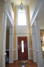 Photo: (After) Dash' s Foyer square pillars, and front door Lumberton, NJ