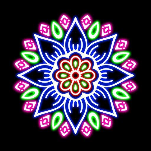 Doodle Spin Glow Art Spiral Pattern Maker 2018