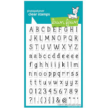 Lawn Fawn Clear Stamps 4X6 - Claires ABCs