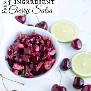 Sweet Cherry Salsa Recipes